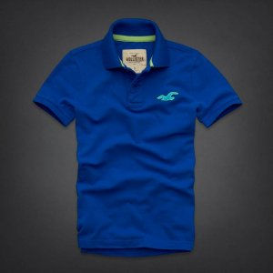 Polo Hollister Masculina Wipeout Beach - Blue