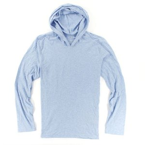 Manga Longa Armani Exchange Masculina Basic Sweatshirt - Heather Blue