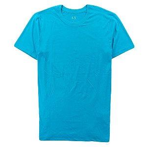 Camiseta Armani Exchange Masculina Crew Neck Tee - Turquoise Gem
