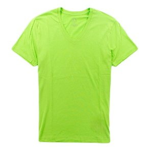 Camiseta Armani Exchange Masculina V-Neck Tee - Green Flash
