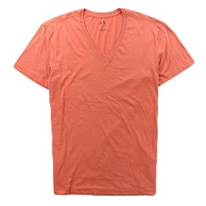 Camiseta Armani Exchange Masculina V-Neck Tee - Pale