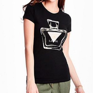 Camiseta Guess Feminina Nadia Tee - Jet Black