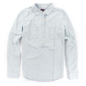 Camisa Tommy Hilfiger Feminina Needlework - Light Blue