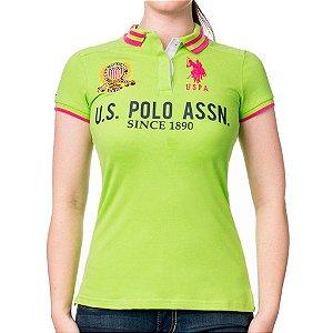 Polo U.S. Polo Assn. Feminina Quilted - Green