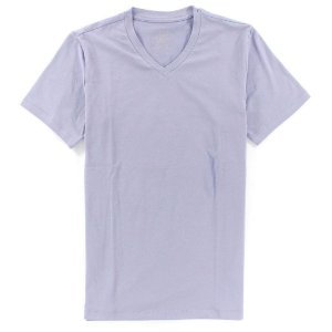 Camiseta Calvin Klein Masculina Basic V-Neck Tee - Lilac
