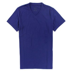 Camiseta Calvin Klein Masculina Basic V-Neck Tee - Purple