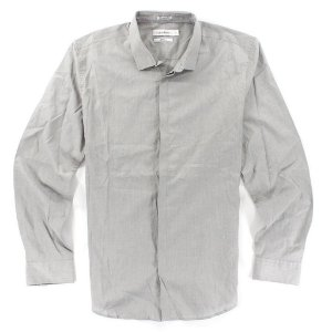 Camisa Calvin Klein Masculina Body Fit Shirt - Grey