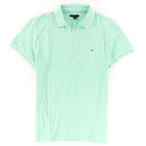 Polo Tommy Hilfiger Feminina Small Logo - Light Green