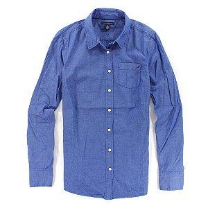 Camisa Tommy Hilfiger Feminina Solid - Blue