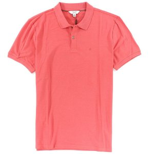 Polo Calvin Klein Masculina CK Piquet Polo - Light Red