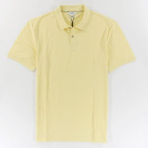Polo Calvin Klein Masculina CK Piquet Polo - Light Yellow