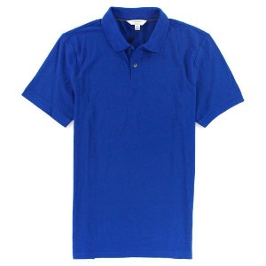 Polo Calvin Klein Masculina CK Piquet Polo - Royal Blue