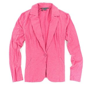 Blazer Armani Exchange Feminina Casual Blazer - Washed Fuschia