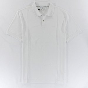 Polo Calvin Klein Masculina Classic Fit Cotton Polo - White