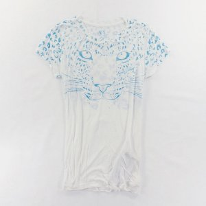 Camiseta Armani Exchange Feminina Feline Tee - White
