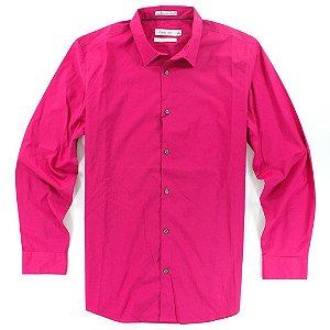 Camisa Calvin Klein Masculina Classic Fit Shirt - Pink