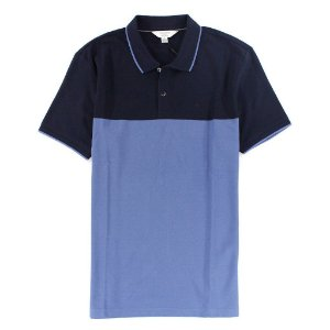 Polo Calvin Klein Masculina Colorblock  Polo - Double Blue