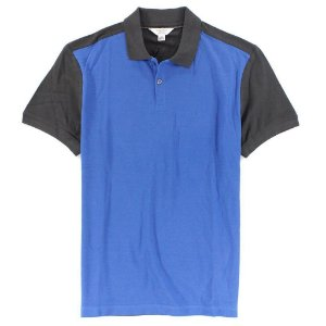 Polo Calvin Klein Masculina Colorblock Polo - Soft Blue