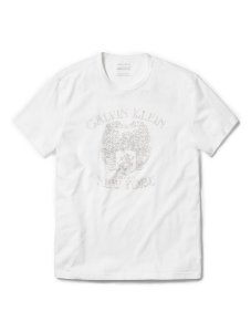 Camiseta Calvin Klein Masculina Velvet Arms Tee - White