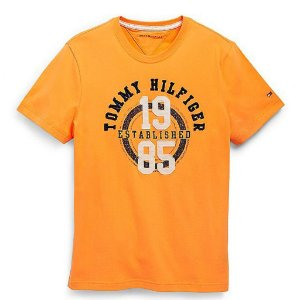 Camiseta Tommy Hilfiger Masculina 1985 Tee - Mustard