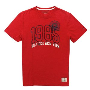 Camiseta Tommy Hilfiger Masculina 1985 Tee - Red
