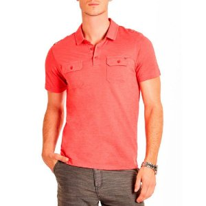 Polo Guess Masculina Andreas Marled - Summer Love Pink