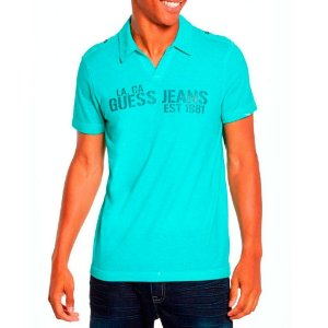 Polo Guess Masculina Enrico Johnny - Sea Shore