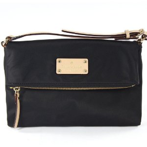 Bolsa Kate Spade Aleah Kennedy Park Bag - Black
