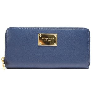 Carteira Michael Kors Continental Wallet - Navy