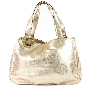 Bolsa Michael Kors Fulton Tote Bag - Gold