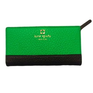 Carteira Kate Spade Mandy Southport Avenue Wallet - Shamrock and Navy