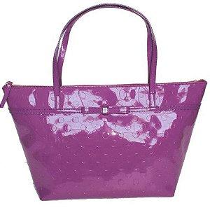 Bolsa Kate Spade Sophie Camellia Street Tote Bag - Purple
