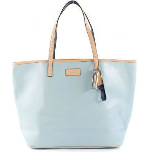 Bolsa Coach Parker Metro Leather Tote Bag - Sky