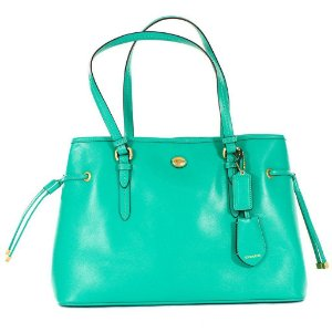 Bolsa Coach Peyton Jordan Shoulder Bag - Green
