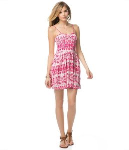 Vestido Aéropostale Printed Bustier - Pink