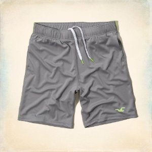Bermuda Hollister Masculina Sport 4way Str - Grey