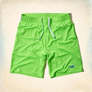 Bermuda Hollister Masculina Sport 4way Str - Green
