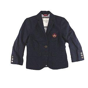 Blazer Abercrombie & Fitch Feminino Oxford Knox - Navy