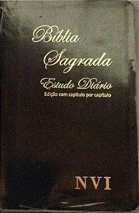 Bíblia Sagrada NVI - Estudo Diário