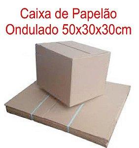 Caixa de Papelão p/mudança 50x30,5x30cm - Pct c/10