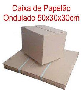 Caixa de Papelão p/mudança 50x30,5x30cm - Pct c/30