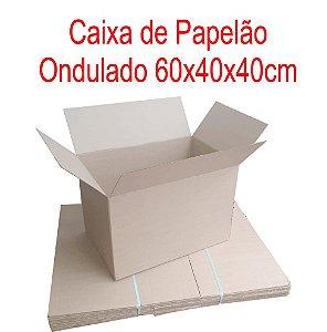 Caixa de Papelão p/mudança 59,5x40x40cm - Pct c/10