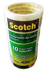 Fita Adesiva Transp Scotch 45mmx45m - Pct c/64