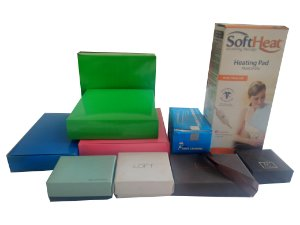 Caixas de cartão duplex 300g lisas ou personalizadas