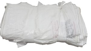 Sacos de ráfia laminada 90x60cm seminovos - Pct c/100