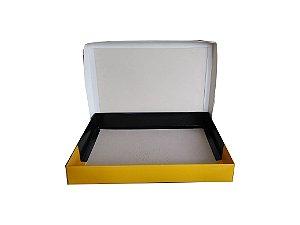 Caixas de cartão duplex 300g c/tampa lisas 40x30x7cm - Pct c/500