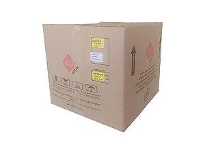 Concha PP p/casquinha de siri bege 97x97x24mm 90ml - Cx c/1.000