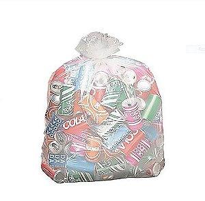 Sacos p/Lixo Reciclável 100 litros 0,75x1,05x0,06 - Pct c/200