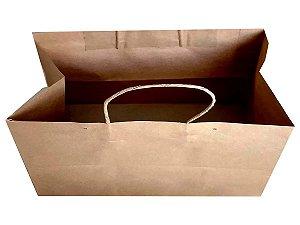 Sacolas de papel kraft 135 g 32x20x27cm Personal - Pct c/500