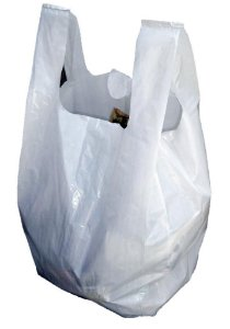 Sacolas camiseta brancas 70x90x0,070 Pct 250uni-11kg